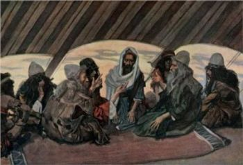 jethro-and-moses-in-tent