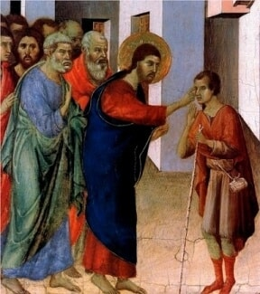 Jesus Healed a Man Born Blind