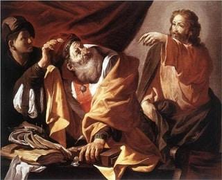Friday, 7/1/16 - Saint Matthew's Decision to Follow Christ