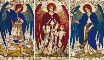Archangels Michael, Raphael, Gabriel