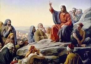 Jesus Preaching to the crowds cropped