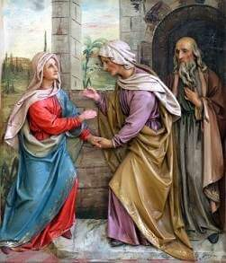 Mary Visited Elizabeth