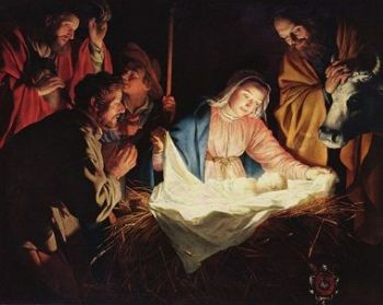 The Birth of Baby Jesus