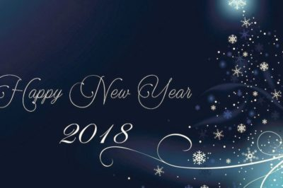 Monday 1/1/2018 – Happy New Year and Happy New YOU
